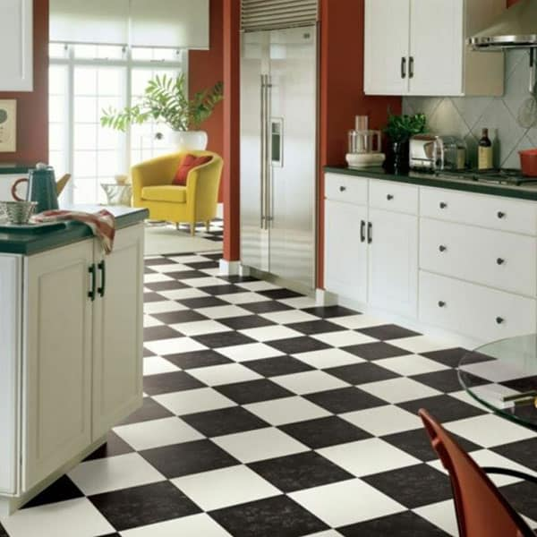 black-and-white-checkerboard-flooring